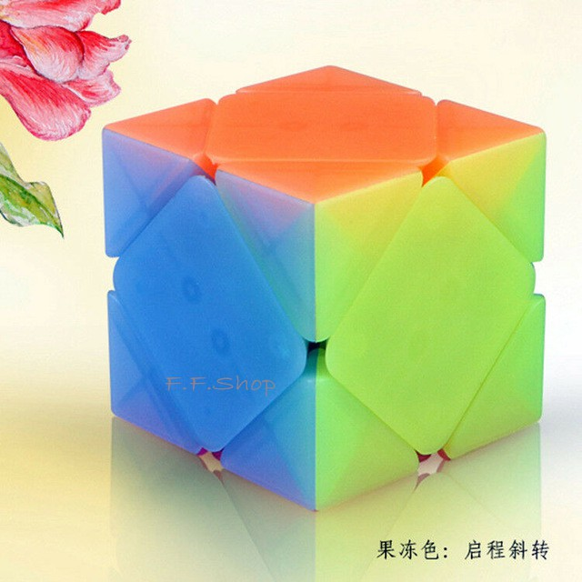 Qiyi QiCheng Jelly Color 3X3x3 Skew Corner Twist Magic Cube Speed Cube Khối Rubik - 22865004 , 2705922091 , 322_2705922091 , 284400 , Qiyi-QiCheng-Jelly-Color-3X3x3-Skew-Corner-Twist-Magic-Cube-Speed-Cube-Khoi-Rubik-322_2705922091 , shopee.vn , Qiyi QiCheng Jelly Color 3X3x3 Skew Corner Twist Magic Cube Speed Cube Khối Rubik