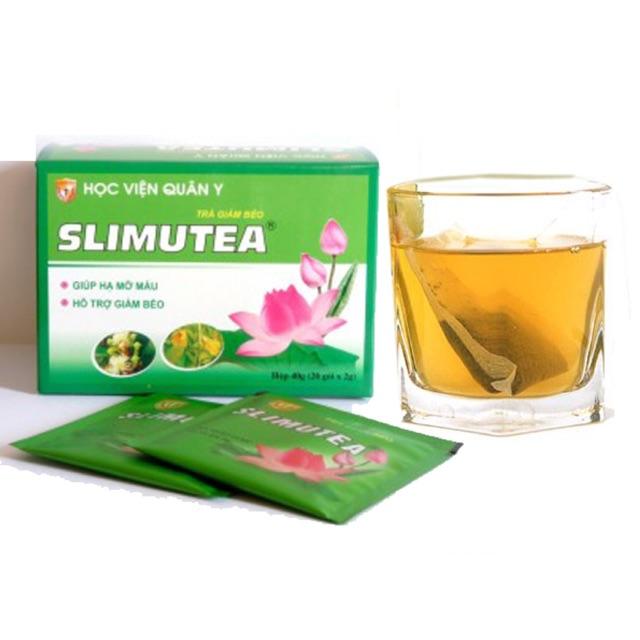 Trà giảm béo Slimutea an toàn hiệu quả cho vóc dáng như ý