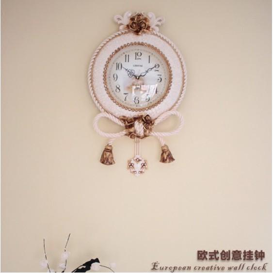 [ XẢ HÀNG ] Đồng Hồ Treo Tường Cao Cấp - XHDH 011 - Đồng Hồ TReo Tường Nhập Khẩu - Màu trắng kích thước 50cm