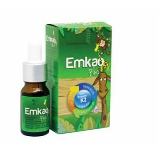 Vitamin D3 kết hợp K2 giúp bé phát triển chiều cao vượt trội _Emkao plus