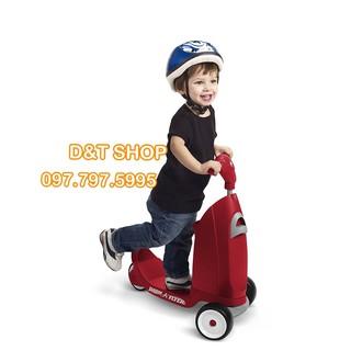 Xe tròi chân xe scooter đa năng 2 in 1 cho bé từ 0 đến 6 tuổi