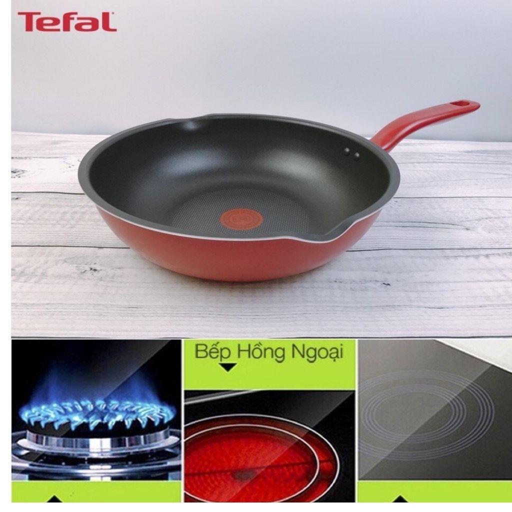 Chảo sâu lòng Tefal đáy từ 🥰 free ship🥰 chảo sâu lòng đáy từ Tefal  So Chef   Plus chống dính cao cấp 24 cm- 28 cm
