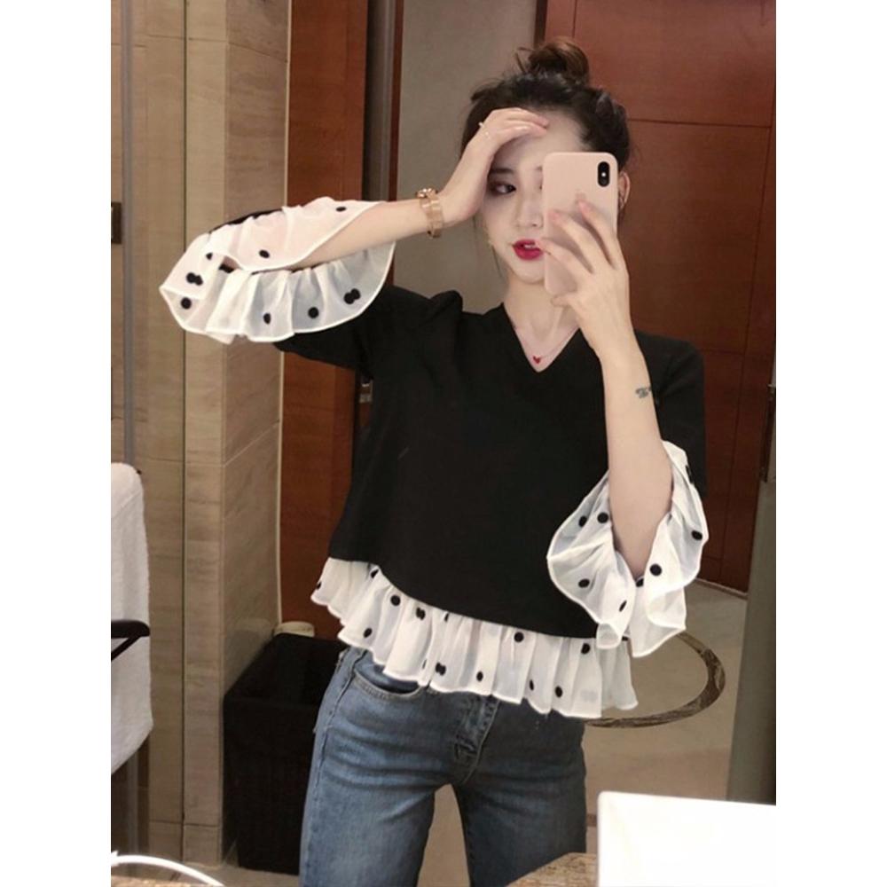 áo sơ mi nữ dài tay cổ bẻ thời trang hàn - 13958600 , 2539149955 , 322_2539149955 , 104800 , ao-so-mi-nu-dai-tay-co-be-thoi-trang-han-322_2539149955 , shopee.vn , áo sơ mi nữ dài tay cổ bẻ thời trang hàn