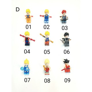 Non Lego Minifigures Dragon Ballo Những Mẫu Mới Nhất