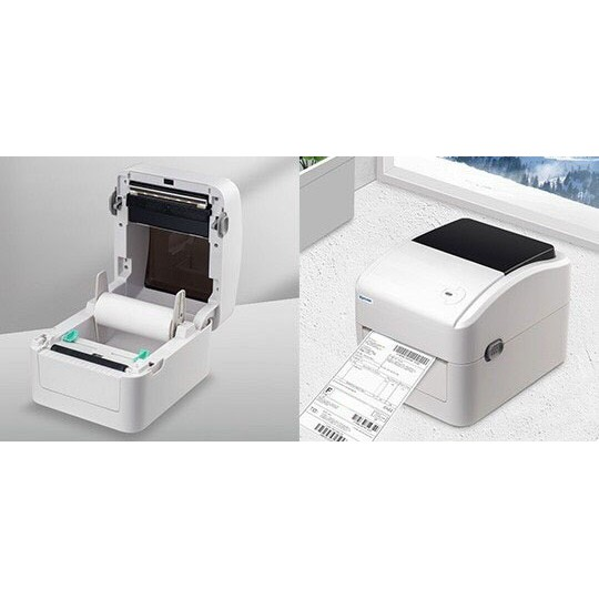 Máy in tem, mã vạch, tem nhãn, in đơn hàng, phiếu giao hàng TMĐT Xprinter XP-420B  gdf4