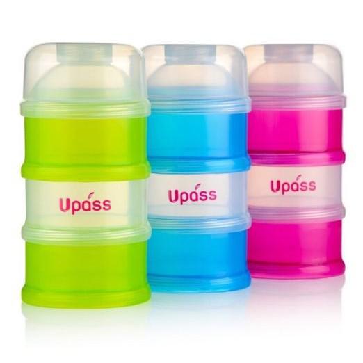 hộp chia sữa 3 ngăn Upass 55