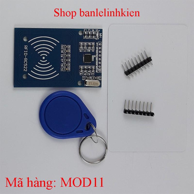 Module nhận dạng bằng tần số vô tuyến RFID MF RC522 + 2 tag