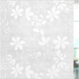 Yêu ThíchDECAL 1M PVC giấy dán kính mờ ( khổ 45cm ) – LÁ NHỌN TRẮNG KK068