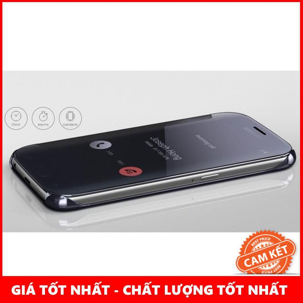 BAO DA SAMSUNG GALAXY S6 G920F CLEAR VIEW COVER MÀU XANH DA TRỜI CHÍNH HÃNG – THANH XUÂN