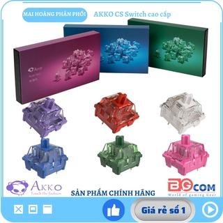 [Chính hãng] Switch thay nóng cho bàn phím cơ AKKO CS switch-Ocean Blue Matcha Green Red Rose Lavender Radiant Vintage thumbnail