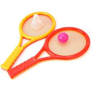 Đồ chơi Cặp Vợt Cầu Lông, Tenis Nhựa (Lớn) giúp bé phản xạ nhanh
