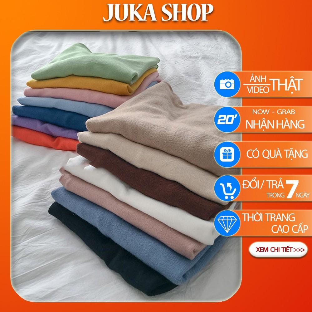 Áo Len Mỏng Cổ Vừa Chất Đẹp Dài Tay Thu Đông Juka Shop