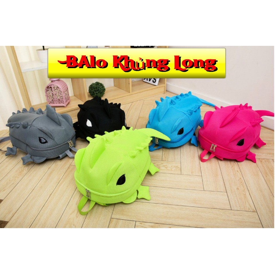 [hàng nhập] Balo khủng long size lớn