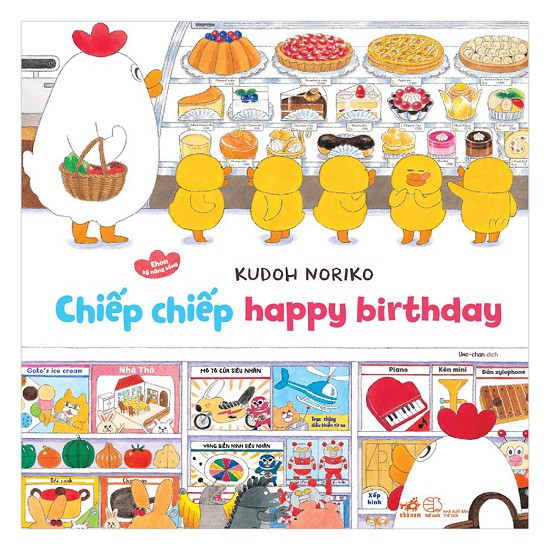 Cuốn sách Chiếp Chiếp Happy Birthday - Ehon Kỹ Năng Sống - Nhiều tác giả