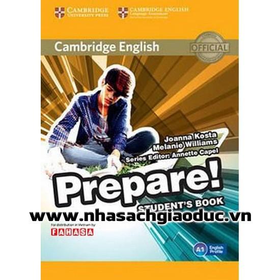 Sách - Cambridge English Prepare Level 1 Student