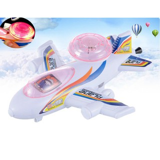 Baby Flash Pull-emitting Little Light Planes Toy