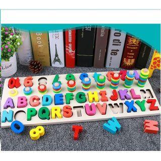 Giáo cụ Montessori – Cột tính chữ số đa năng cho bé