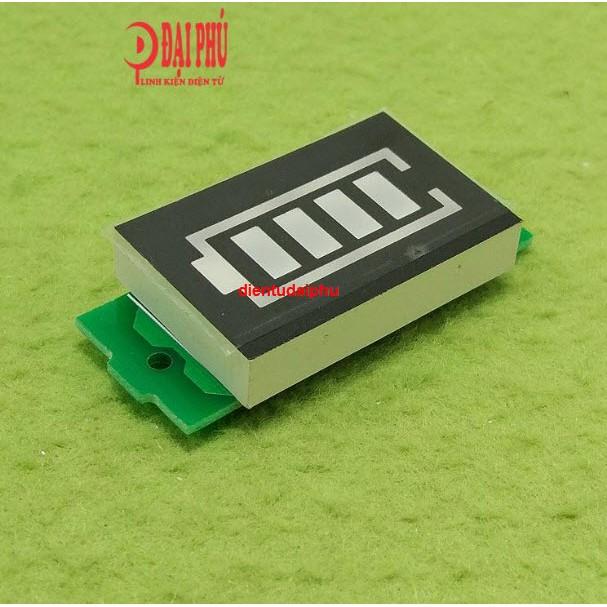 Module đồng hồ led hiển thị dung lượng pin