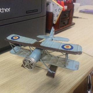 Mô hình Máy bay kim loại cổ
