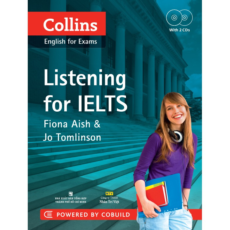 Sách - Collins Listening for IELTS (kèm CD)