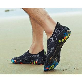 Giày đi biển, đi bơi, treckking đế cao su thoát nước thumbnail