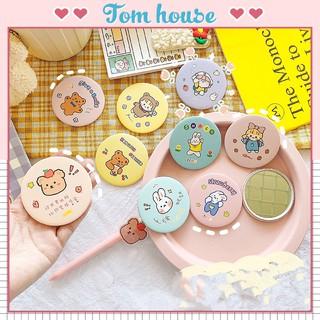 Gương trang điểm cầm tay mini bỏ túi cô gái Nhật Bản Tom House thumbnail
