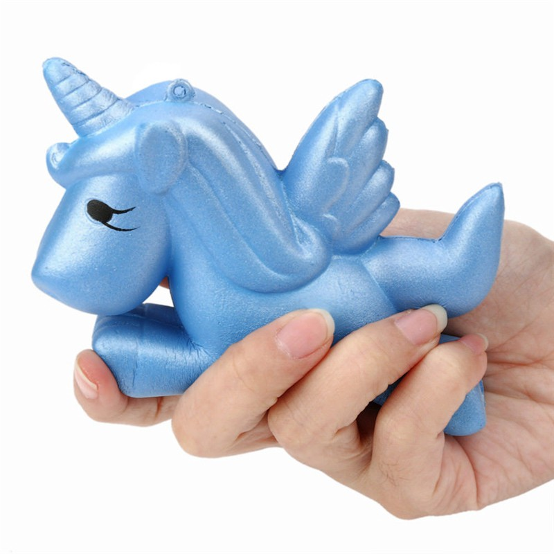 Jumbo Squishy Slow Rising Unicorn Doll Kawaii Squishies Soft Charms Pendants Toy