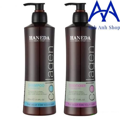 Dầu gội và dầu xả Haneda Collagen 785ML/CHAI