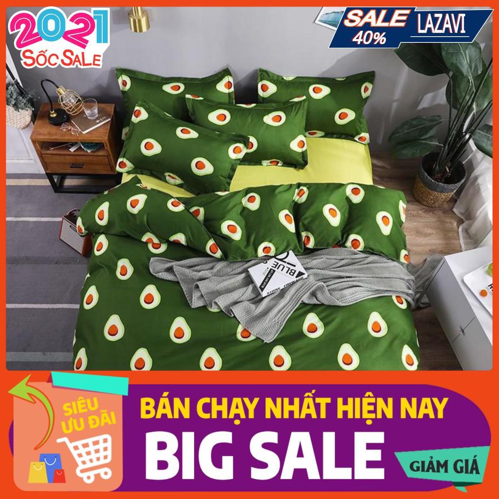 Thanh lý 50% Ga Drap trải giường cotton poly 1m2/1m6