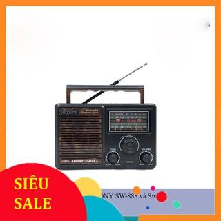 ĐÀI RADIO Sony Sw-888 và SW-999 kiểu dáng nhỏ gọn, Pin AA siêu tiết kiệm