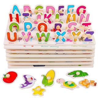 Đồ chơi bảng núm gỗ loại 20×30 cm nhiều chủ đề