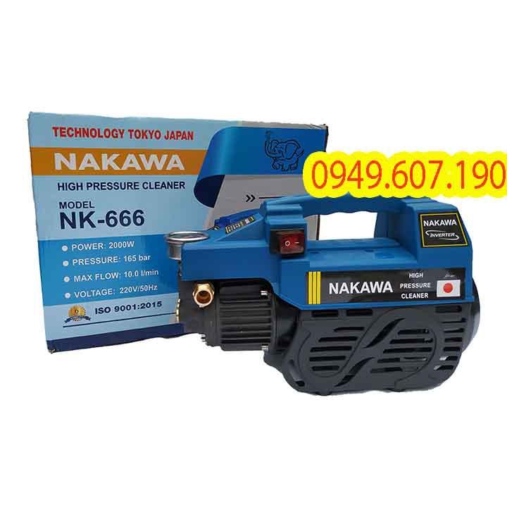 Máy Rửa Xe Nakawa 2000W NK-666