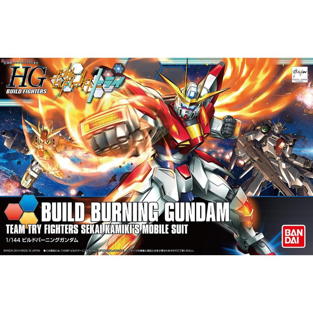Mô hình Gundam HG BF Build Burning