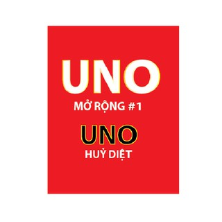 Uno Mở Rộng Expansion #1 – Uno Hủy Diệt (new vision)