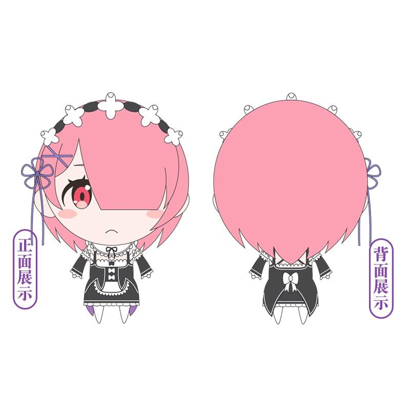 Mô Hình Nhân Vật Anime Re: Zero Kara Hajimeru