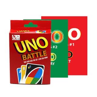 Combo Bài Uno Đại Chiến Và 2 Bản Mở Rộng (New Vision)