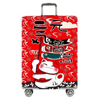 Túi bọc bảo vệ vali- Mèo thần tài thumbnail