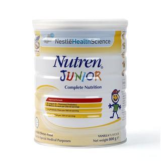 [Mã MKBCS01 hoàn 8% xu đơn 250K] Sữa Nutren Junior 800g Nhập Khẩu Chính Hãng( date t8 2022) thumbnail
