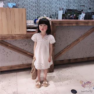 Đầm công chúa ngắn tay xinh xắn thời trang dành cho bé gái