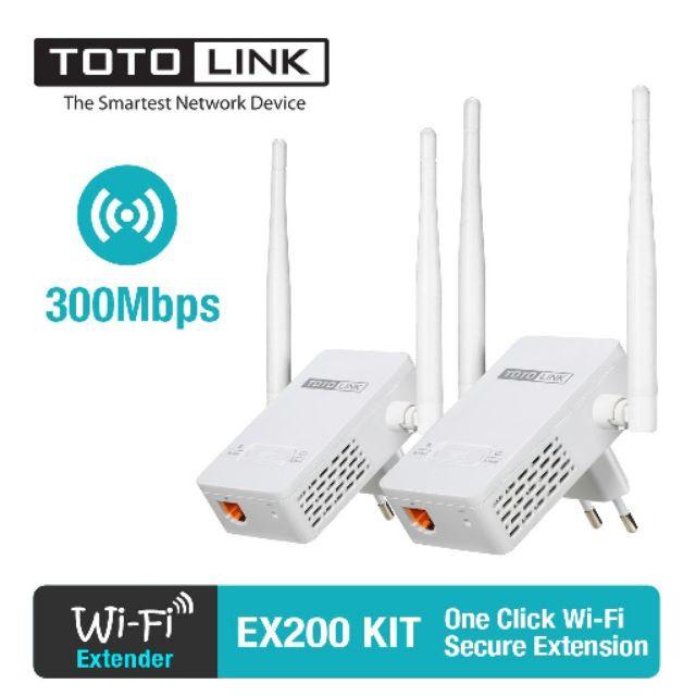 Thiết Bị Phát Wifi Repeater TOTOLINK EX200 Phân Phối Chính Hãng - 22739542 , 2363453792 , 322_2363453792 , 254000 , Thiet-Bi-Phat-Wifi-Repeater-TOTOLINK-EX200-Phan-Phoi-Chinh-Hang-322_2363453792 , shopee.vn , Thiết Bị Phát Wifi Repeater TOTOLINK EX200 Phân Phối Chính Hãng
