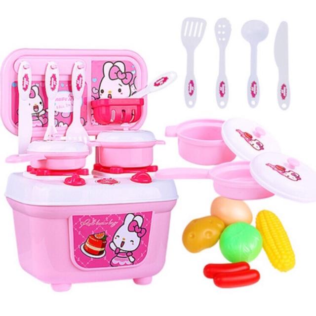 Bộ đồ chơi nấu ăn cho bé gái