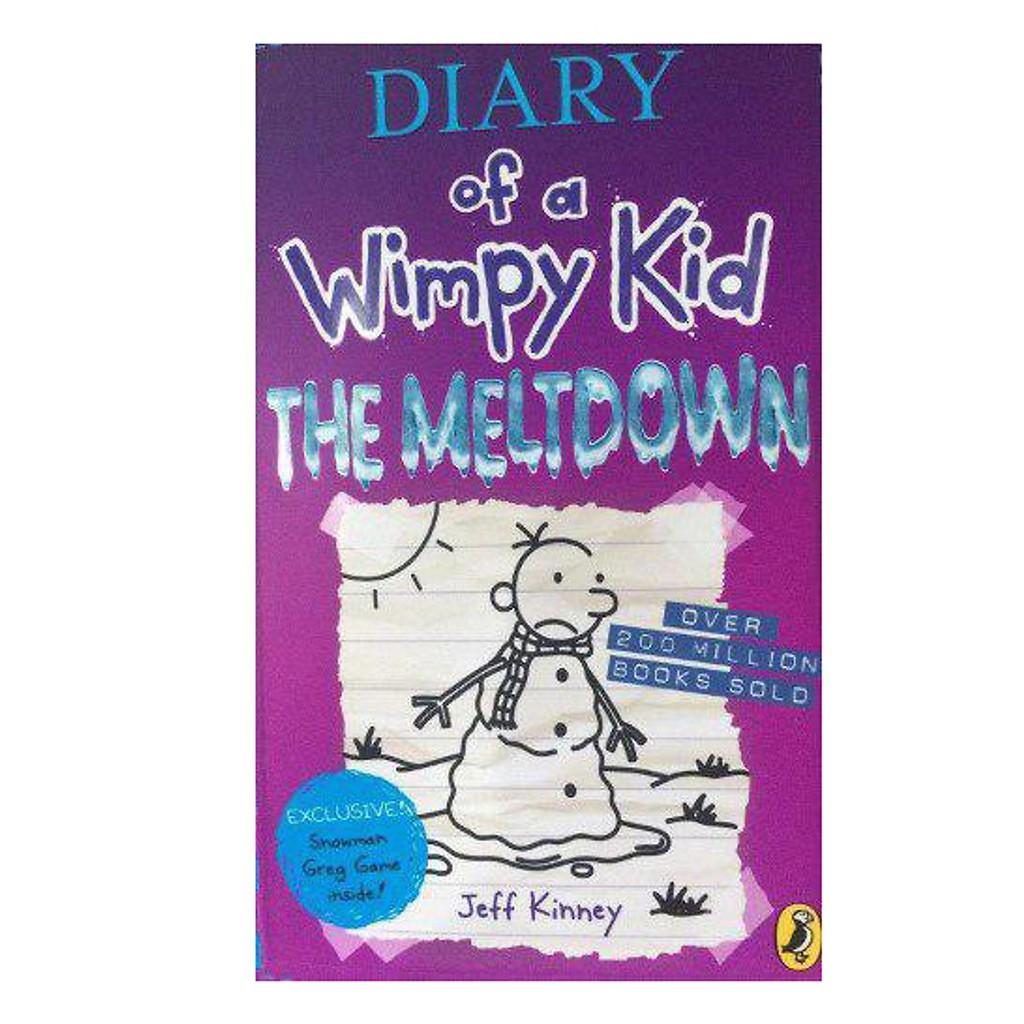 Truyện: Diary of a Wimpy Kid 13: The Meltdown (Paperback - Bìa mềm)