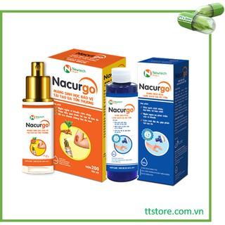 NACURGO dạng xịt - Làm lành vết thương, dung dịch rửa vết thương - Nano curcumin nacugo thumbnail