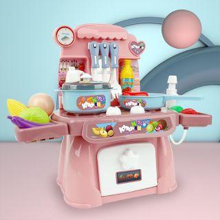 💥 Đồ chơi mô phỏng nhà bếp đồ chơi nấu ăn, nấu cơm cho trẻ em phù hợp với bé gái💥