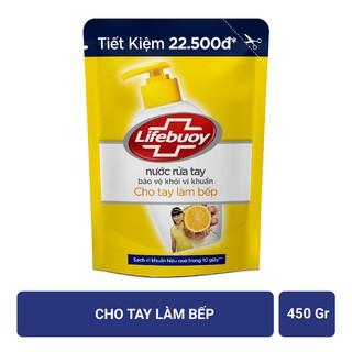 Hình ảnh Nước rửa tay Lifebuoy Bảo vệ khỏi vi khuẩn 450gr (Túi)-3