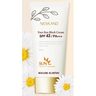 Kem chống nắng mặt hàn quốc Face Sun Block Cream SPF 43 PA+++ thumbnail