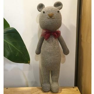 Gấu bằng lend Handmade đẹp ( An toàn cho bé)