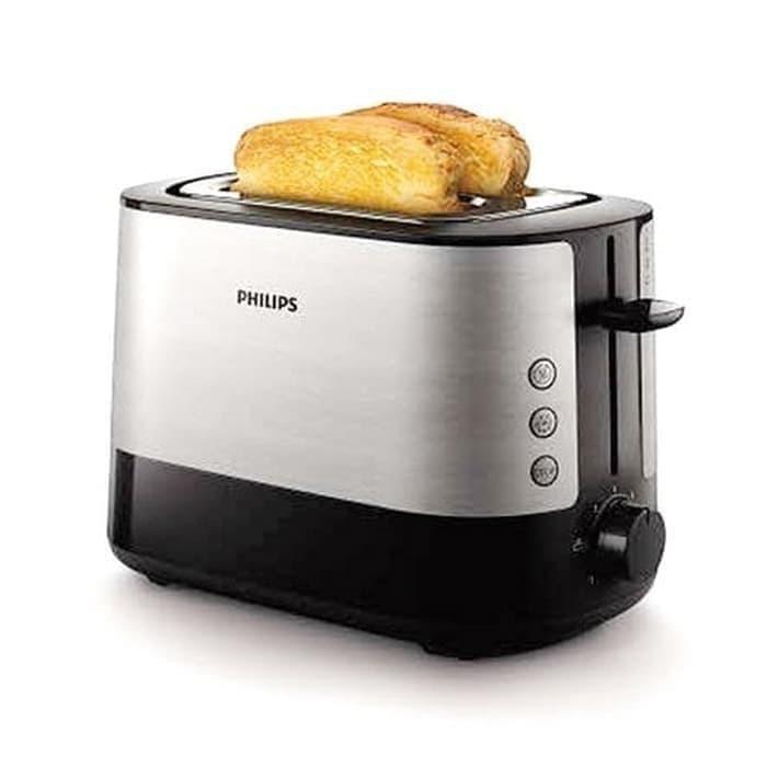 Máy nướng bánh mỳ Sandwich Philips HD2637- Hàng Chính Hãng