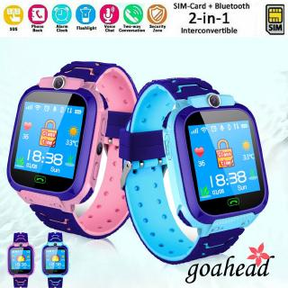 Đồng hồ thông minh định vị GPS chống lạc mất kết nối Android IOS cho bé