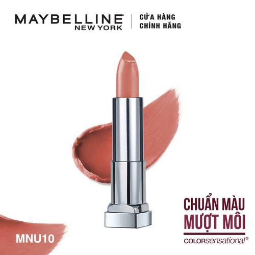 [HB Gift] Son lì mịn môi Maybelline Color Sensational Creamy Matte 3.9g | SaleOff247